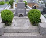 お墓の撤去前
