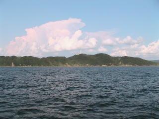 東京湾観音近くの海