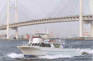 東京湾観音散骨に使う大型船