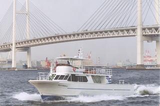 散骨で使用する大型船