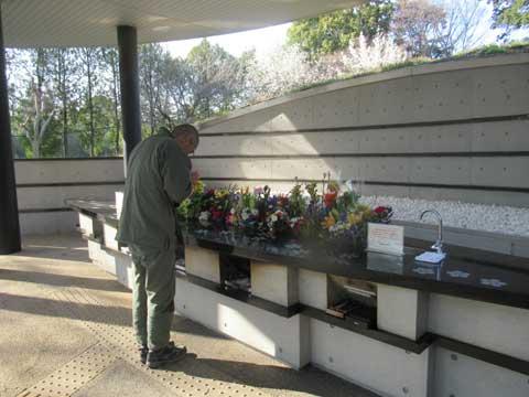 多磨霊園-合葬墓