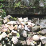 墓石の墓場