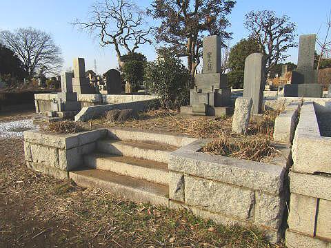 多磨霊園-墓地-綺麗になる