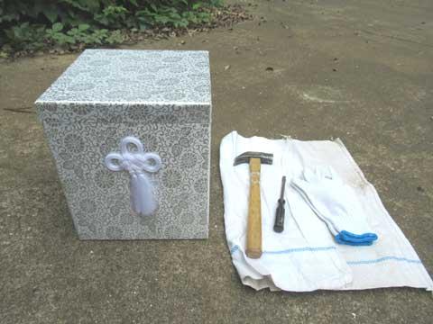 骨壺処分に必要な道具