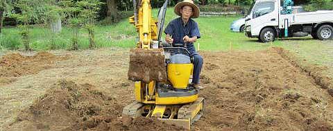 樹木葬-工事中