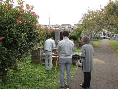 桜木霊園 墓じまい①