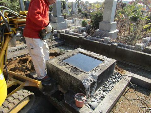 八柱霊園 墓石