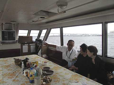 大型船-船内
