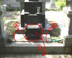 お墓のふたの開け方