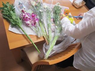 散骨の花-ご一緒に