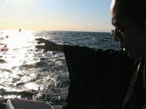 海の代行散骨