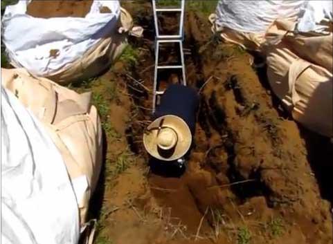 遺骨の埋葬