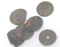 硬貨-遺骨の不純物