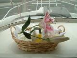水溶性袋-お花で飾り付け